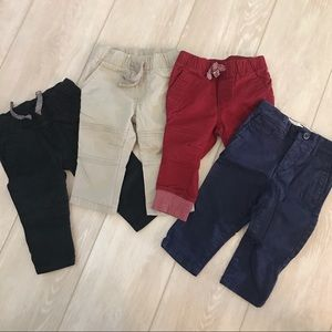 Set of 4 pants - size 12m